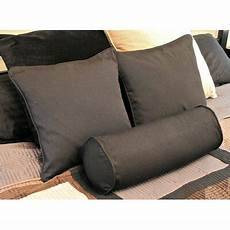 futon pillows blazing needles 3 solid pillow package reviews