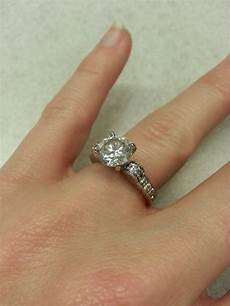 intricate style engagement ring weddingbee photo gallery