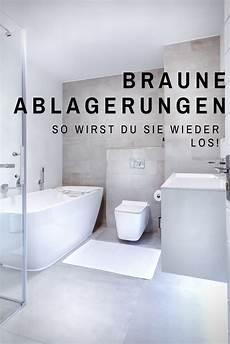 toilette reinigen ablagerungen braune ablagerung in der toilette entfernen toiletten toiletten reinigen und ablagerung