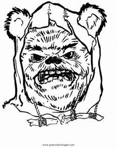 Wars Malvorlagen Quest Starwars Ewoks 4 Gratis Malvorlage In Science Fiction