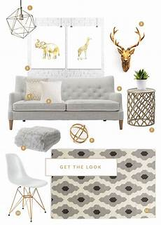 White And Gold Home Decor Ideas by The Grey White And Gold Combo For The Home For