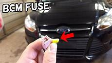 Bcm Module Fuse Location And Replacement Ford