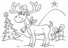 Weihnachten Malvorlagen Rentier Rentier Ausmalbilder Ausmalbilder Rentier
