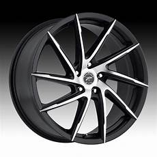 wheels hawk platinum 433 hawk machined satin black custom wheels rims