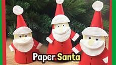 diy crafts for paper santa claus craft