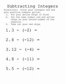 addition and subtraction integer worksheets 8910 10 best images of integer operations worksheet multiplying integers worksheet subtracting