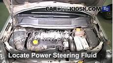 check power steering level opel zafira 2005 2011 2005
