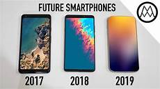 5 amazing upcoming smartphone features 2018 2019