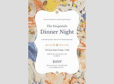 7  Holiday Dinner Invitation Templates   PSD, EPS, Ai