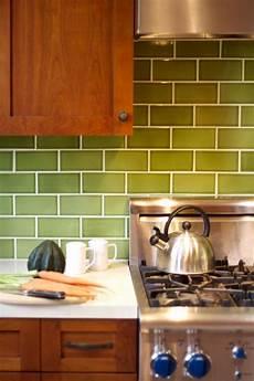 Where To Buy Kitchen Backsplash Tile Updated Craftsman Style Kitchen With Green Backsplash And
