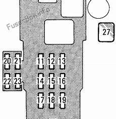 1996 toyota t100 fuse diagram fuse box diagram toyota t100 1993 1998