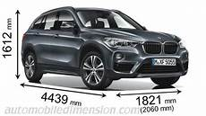 dimensions bmw x1 dimensions of bmw cars showing length width and height