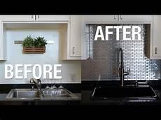 Steel Backsplash Kitchen Installing Stainless Steel Kitchen Backsplash