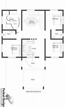 1350 sq ft house plan 1350 square feet 3 bedroom single floor low budget