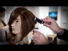 how to cut a stacked bob haircut tutorial stacked bob with a razor matt beck vlog 74 youtube