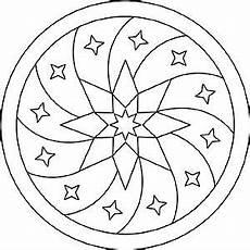 Malvorlagen Cd Mandala Mit Sternen Zum Entspannen Mandala Muster