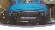 bmw m2 m performance exhaust w er downpipe revs and sound youtube