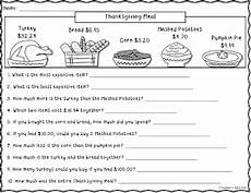 teacher s take out free thanksgiving meal worksheet