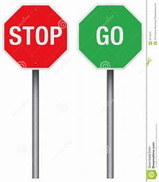 Stop And Go Signs Clipart Clipart Suggest