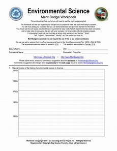 environmental science worksheets boy scouts 12141 11 merit badge environmental science worksheet