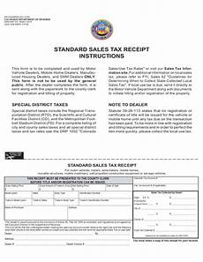 sle sales tax receipt instructions colorado free download