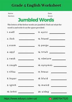 worksheets for grade 4 18758 4th grade vocabulary worksheet pdf by nithya issuu