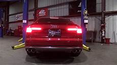milltek sport exhaust audi b9 s4 youtube