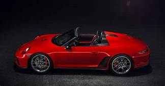 500hp Porsche 911 Speedster Coming In 2019 As Limited