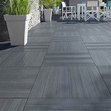 carrelage de terrasse imitation bois castorama carrelage terrasse gris anthracite 50 x 50 cm