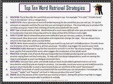 word finding worksheets speech language literacy llc top ten list word