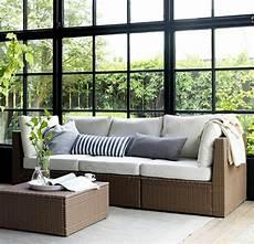 lounge möbel ikea ikea gartenm 246 bel 22 stilvolle ideen f 252 r ihren au 223 enbereich