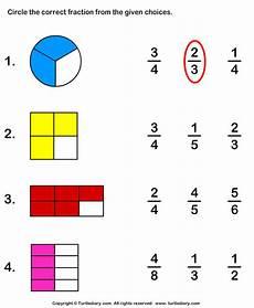 fraction worksheets shaded unshaded 4095 circle fraction representing shaded portion worksheet turtle diary