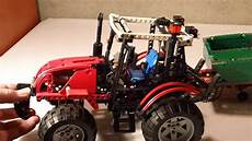 Malvorlagen Lego Technic Hd Lego Technic 8063 Tractor With Trailer Review