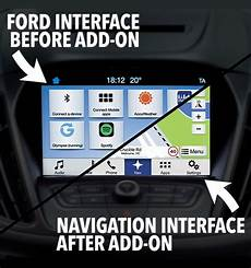 ford sync 3 navigation ford sync 3 gps navigation system upgrade with hdmi and