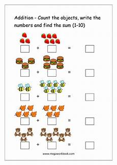 addition using sets worksheets for grade 1 9475 free printable number addition worksheets 1 10 for kindergarten and grade 1 addition on