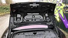 audi a6 4f limo kofferraum verkleidung demontage