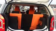 vw up white hertz sound system