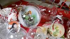 boule transparente deco noel boules transparentes diy noel tutoriel loisirs
