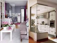 Die Komfortable Wohnk 252 Che In Der Kleinen Wohnung Freshouse