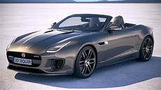 Jaguar F Type R Dynamic Convertible 2018 3d Model Cgstudio