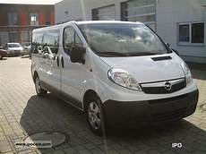 2011 opel vivaro 2 0 cdti l2h1 9 sitzer car photo and specs