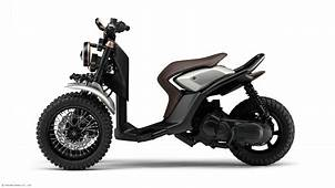 Yamaha Shows 03GEN Three Wheeled Scooter Concepts
