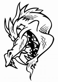 Ausmalbilder Drachen Sturmpfeil Ausmalbilder Fieser Drachenkopf Drachen Malvorlagen