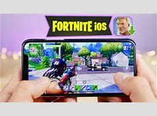 Playing Fortnite Mobile on iPhone! How To Download   YouTube