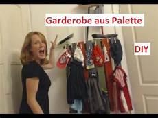 Palettenm 246 Bel Diy Garderobe Aus Palette