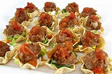 skinny mini mexican meatball tostada appetizers with weight watchers points skinny kitchen