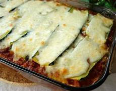 Low Carb Zucchini - zucchini lasagna lasagne low carb recipe food