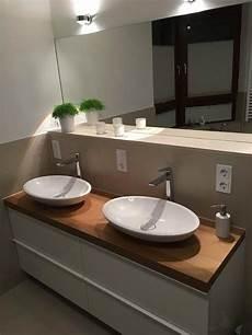 waschtischplatten aus europ 228 ischem holz mit unterschrank