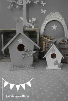 D 233 Coration Chambre Enfant B 233 B 233 Nichoir Oiseau Maisonnette