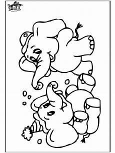 elefant 6 malvorlagen zoo